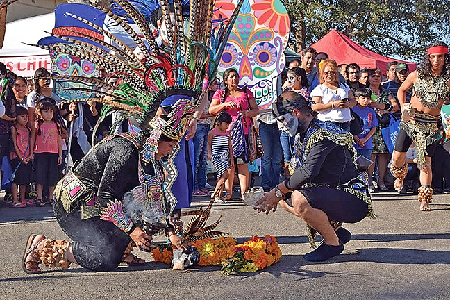 Santa Maria Welcomes All To Celebrate The Day Of Dead
