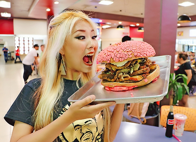 Competitive eater Raina Huang takes on the Santa Ynez Valley | Eats ...