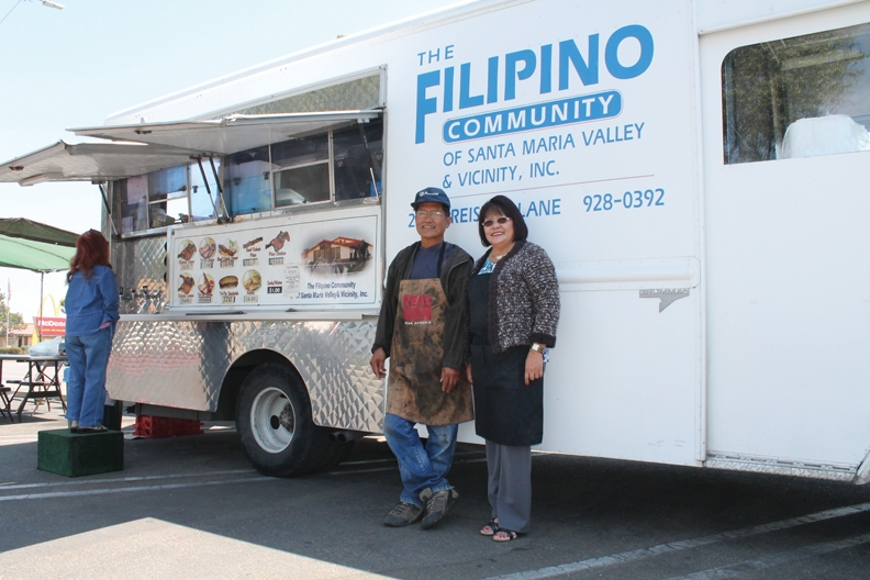 spotlight on filipino community center food truck biz spotlight santa maria sun ca. Black Bedroom Furniture Sets. Home Design Ideas