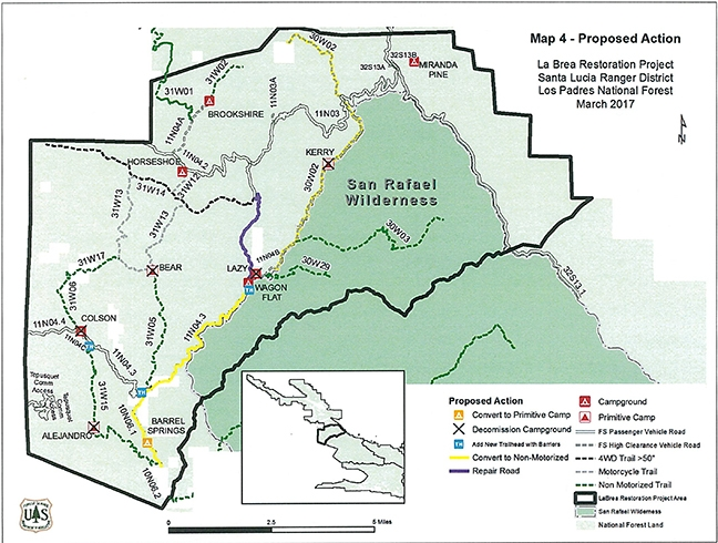 U.S. Forest Service releases proposal for new trail east of ...