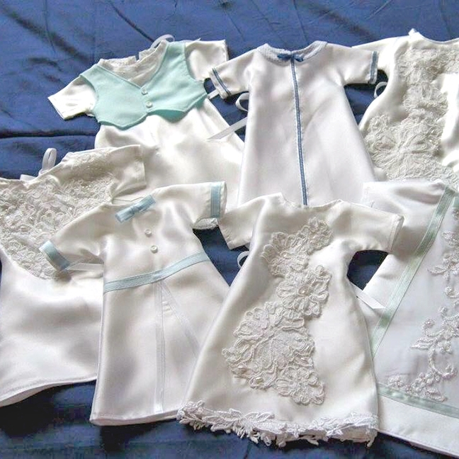 Sewing support: Angel Gowns for Dignity offers comfort to grieving ...