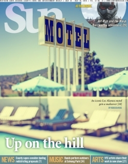 Up on the hill: An iconic Los Alamos motel gets a makeover