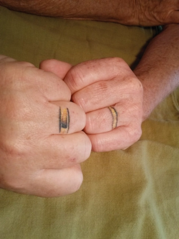 Wedding Ring Bands >> Tattoos are forever: Ditch the gold and silver for ink | Art | Santa Maria Sun, CA