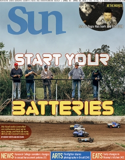 Start your batteries: Die-hard radio-controlled car enthusiasts meet up to race, jump, and kick up some dirt on the Central Coast