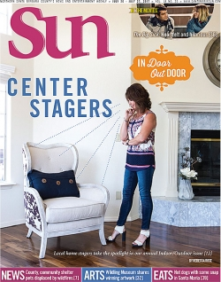Center stagers: Local home stagers take the spotlight in our annual Indoor/Outdoor issue