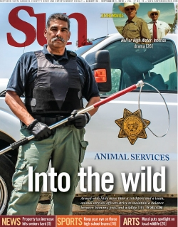 Into the wild: Armed with little more than a catchpole and a leash, animal services officers strive to maintain a balance between humans, pets, and wildlife