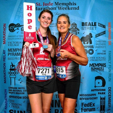 On the run orcutt mother and daughter prepare for memphis for St jude marathon shirts