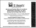 ST. VINCENT'S 4TH ANNUAL FASHION SHOW AND LUNCHEON