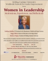 WOMEN IN LEADERSHIP: MOTIVATIONS, EXPERIENCES, AND REFLECTIONS