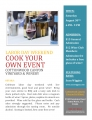 """COOK YOUR OWN"" EVENT"